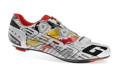Gaerne | Cycling Shoes ROAD: G.STILO RED/YELLOW/WHITE LIMITED EDITION