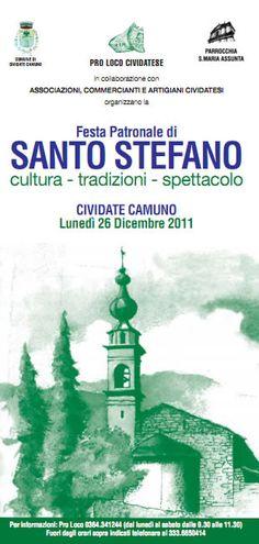 Festa patronale di Santo Stefano a Cividate camuno  http://www.panesalamina.com/2011/991-festa-patronale-santo-stefano-cividate-camuno.html
