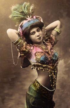 Belly Dancer ca 1905