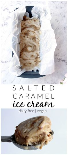 Salted caramel ice cream is life. Especially when healthy, vegan friendly and so incredibly simple.  Thermomix and conventional method included.