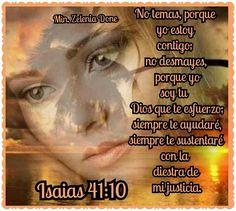 Isaias 41:10 Bible Verses, Movies, Movie Posters, Psalms, Verses, Dios, Films, Film Poster, Cinema