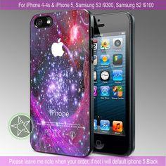 Galaxy Nebula Space Stars - iPhone 4 / iPhone 4S / iPhone 5 / Samsung S2 / Samsung S3 / Samsung S4 Case Cover