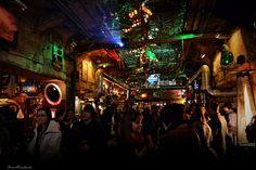 Szimpla Kert - famous ruin pub in Budapest #Hungary #Europe
