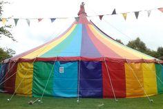 rainbow tent!