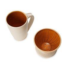 GOLDENROD COFFEE POUR OVER AND MUG