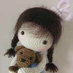 "436 Likes, 39 Comments - Ruska Naidenova (@rusi_nai) on Instagram: ""🌞💚🌼🌼🌼🌼💚🌞 #crochet #crochetdoll #amigurumi #amigurumidoll #handmade👐 #вязанаяигрушка #вязанаякукла…"""