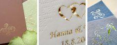 Painetut lautasliinat. Tummanpunaisia liinoja, joissa kuva (sydän tai vastaava), meidän nimet ja päivämäärä. Äiti haluaa hoitaa nämä :)