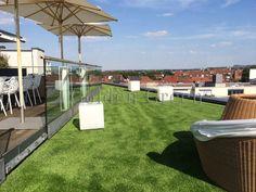Kunstrasen Für Terrassen Von Golden Green.