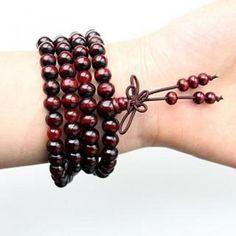 Wooden Beaded Bracelet