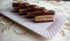 Kakaové rezy s orechovým krémom (fotorecept) Czech Recipes, Ethnic Recipes, Tiramisu, Advent, Anna, Hampers, Tiramisu Cake