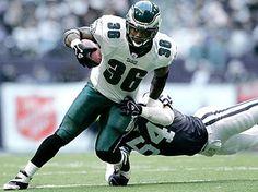 Brian Westbrook retired as a member of the Philadelphia Eagles. Best Football Team, Football Players, Football Helmets, Philadelphia Eagles Football, Philadelphia Sports, Fly Eagles Fly, Nfl Fans, Home Team