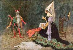 Warwick Goble, 1913, Rumpelstiltskin