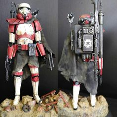 "Star Wars Bandai Model Customization.  ""Rogue Trooper"""