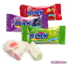 Heavenly Sugar High... Hi-Chew Candy.       I am in heaven when I eat this