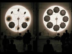 Peter William Holden Presents [AutoGene] by Dimensions; 450 x 450 x 80 cm. Compressed Air, Festival 2016, Electronic Art, Installation Art, Art Installations, Cinematography, Aurora, Presents, Ceiling Lights