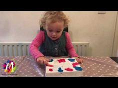 Messy Little Monster: Cling Film Art