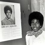 Dr. Gloria D. Scott served as the first African-American National President of Girl Scouts from 1975–1978.