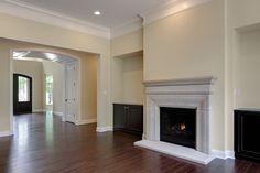 DH Custom Homes, Custom Pendleton in Chesterfield, MO #livingroom #customhome