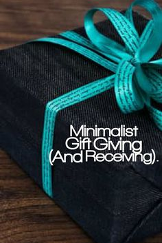 Our newest blog post Is now up Minimalist Gift Giving (And Receiving). Follow us on journey into minimalism. You can check out our website at www.levelsofminimalism.com Inspirational quotes, simple living, minimalism, minimalist, blog, blogger, blogging