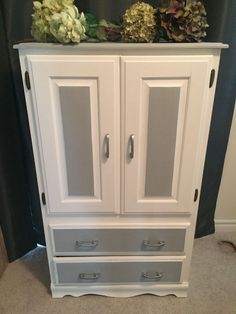 Shabby Chic Solid Wood Pine Armoire | Dressers & Wardrobes | City of Toronto | Kijiji