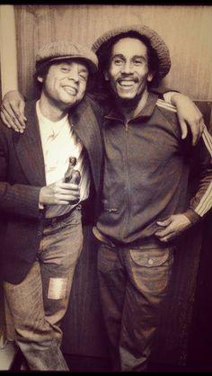 Bob Marley & Singer Songwriter Garland Jeffreys.....