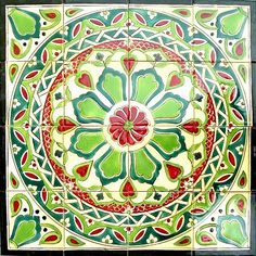 <li>Mosaic tiles are handmade and hand-painted in the Mediterranean country of Tunisia <li>Ceramic tiles are individually fired and have a world class handmade finish <li>Each mosaic is beautifully handcrafted so no two are exactly alike