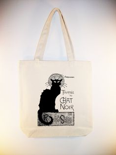 I just listed Lautrec French Touree du Chat Noir (Black Cat) Ad Illustration on 15x15 Canvas Tote -- larger zip top size, and ANY IMAGE COLOR available on The CraftStar @TheCraftStar #uniquegifts
