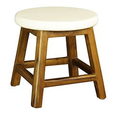 awesome Midcentury Modern Antique Revival Bobby Stool, White