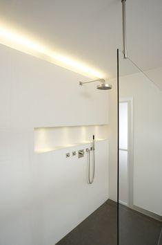 Shower by Dreyer Clever lighting idea
