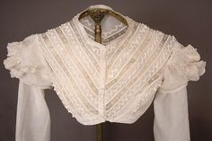 Hussar Styled summer Bodice, 1815-1825 - Lot 143 $575