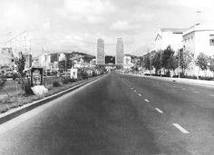 Década 60. Avenida Bolivar de Caracas.  Foto: @Archivo El Nacional