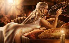 Daenerys Targaryen by AlanVadell.