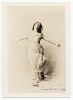 Isadora Duncan, founder of modern dance and author of the ground-breaking memoir…