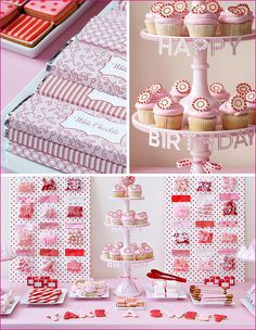 love the idea of using pegboard behind to add to the display! Amy Valentine, Valentine Ideas, Lolly Buffet, Candy Buffet, Girl Birthday, Happy Birthday, Birthday Parties, Red Party, Candy Bars