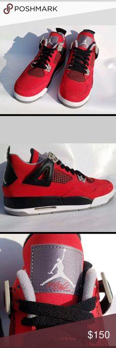 Nike Air Jordan Retro 4 IV Retro Toro Bravo Cement 1af685aeab71