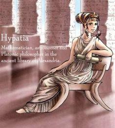 Hipatia de Alejandría o el asesinato de un gran matemático. | Ateismo para Cristianos.