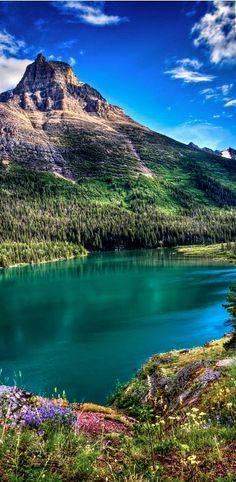 Glacier National Park, Montana How gorgeous! Peaceful and serene!