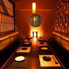 Izakaya (Japanese style restaurant) in Tokyo, Japan. Japanese Shop, Japanese Love, Japanese Culture, Turning Japanese, Tokyo Restaurant, Modern Restaurant, Restaurant Design, Interior Architecture, Interior Design