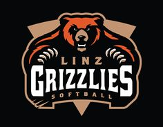 Linz Grizzlies Softball Club Brand Identity Project.