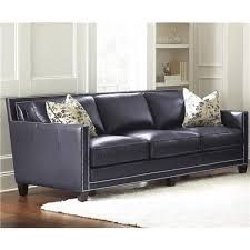navy leather couch - Google Search