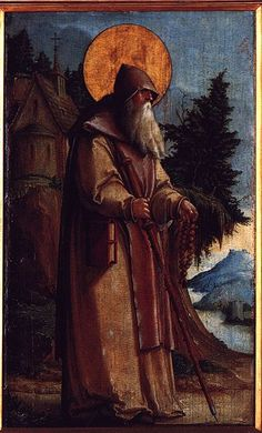 St. Paul the Hermit Painting by Meister von Meßkirch