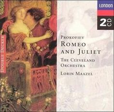 Prokofiev: Romeo and Juliet (Audio CD)By Sergei Prokofiev Sergei Prokofiev, String Quartet, William Shakespeare, Music Albums, Cool Things To Buy, Audio, Play, Band