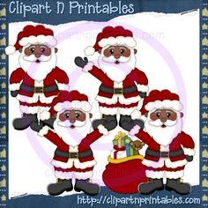 Santa Claus AA 2012- #Clipart #ResellableClipart #ResellerClipart #Christmas #Santa #SantaClaus #Gifts #Presents #Toys