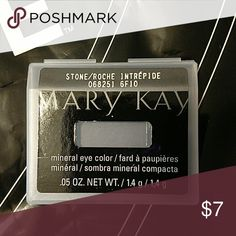 Mary Kay mineral eye color Stone. Brand New in case Mary Kay Makeup Eyeshadow