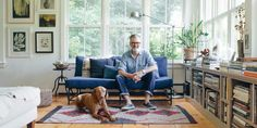 We take a look inside the home of the head of menswear design at J. Crew, Frank Muytjens. Check it out!