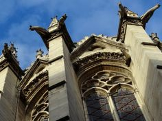 Sainte-Chapelle (Holy Chapel), a royal medieval Gothic chapel, in the center of Paris. Photo by Brian Kaylor.