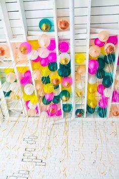 metallic brush stroke balloons   designlovefest