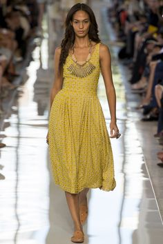 the messy fishtail is amazing tory burch SS 2013