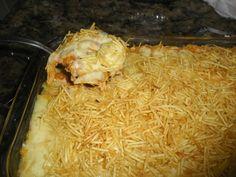 A Batata Recheada na Travessa é uma receita deliciosa para o almoço ou jantar da sua família. Experimente! Veja Também: Omelete de Batata Veja Também: Lasa