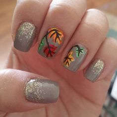 Pin for Later: 21 Autumn Nail Art Ideas That Will Make You Forget About the Beach Snuggle Season